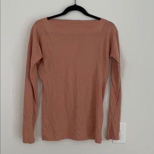 Demylee Anthropologie pink Pima cotton top